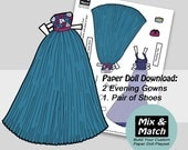 Evening Gowns for Paper D...