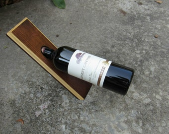 Handcrafted Wood Wine Bottle Holder Wine Balance Display Wine Balance Stand