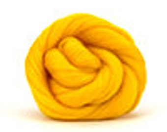 Corriedale Wool Roving (Sliver) in Sunset  - 2 oz