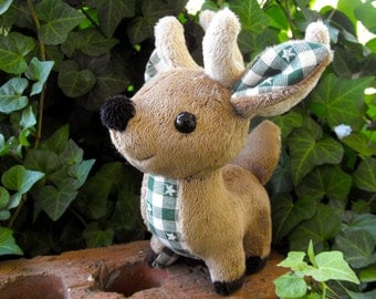 Made to Order Reindeer Plushie