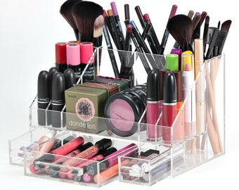 Makeup Organizer,  Arya Acrylic Makeup Organizer, Makeup Storage, Makeup Brush Holder