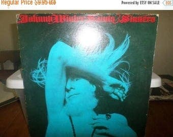 Save 30% Today Vintage 1974 Vinyl LP Record Johnny Winter Saints & Sinners Very Good Condition Columbia Records 5561