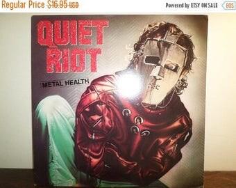 Save 30% Today Vintage 1983 LP Record Quiet Riot Metal Health Pasha Records Near Mint Condition 10892