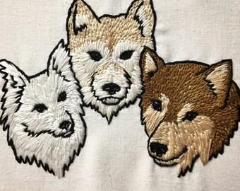 Custom Hand Embroidered Dog Portrait 4x6