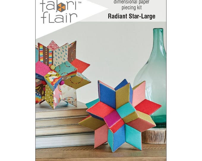 FabriFlair - Dimensional Paper Piecing Kit - Radiant Star Large