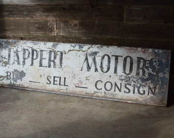 Tappert Motor Sign ***Local Pickup Only***