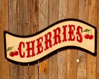 Farmhouse Sign Decor Best Kitchen Decor Kitchen Sign Farmhouse Chic Sign Farmhouse Chic Style Farmhouse Decor Sign Farmhouse Style Cherries