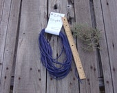Purple leather lace , Purple leather cord , Purple leather string