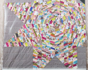 Acrylic Templates - Lawn Star Quilt Pattern - Jen Kingwell - JKD 5415 - Jenny from One Block Book