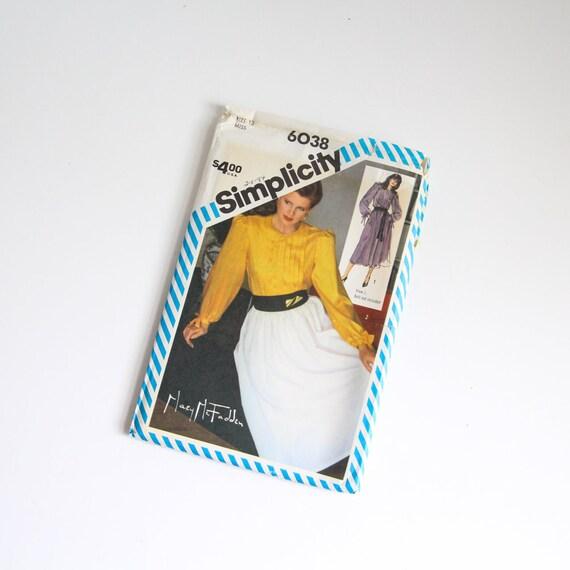 TAMAÑO 12 6038 2 piezas vestido blusa camisa falda sencillez Femenil ...