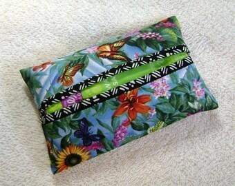 Pocket Tissue Holder - Tissue Holder - Tissues - Kleenex - Fabric Tissue Holder - Contemporary Fabric - Modern Fabric - TC148