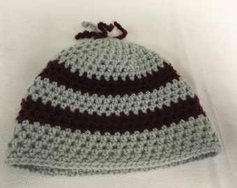 Cozy and cute crocheted Infant's hats