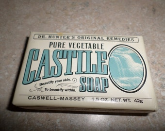 Castile Soap Caswell-Massey 1.5 oz. Dr. Hinters Original Remedies