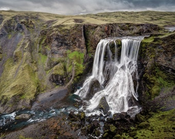 "Fine Art Photography, Iceland - ""Fagrifoss"""
