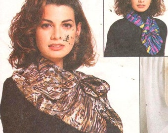 McCalls 6838, Ladies Scarves, cosmetic bags, purses, bed caddy & more, 90s Nancy Zieman Accessories Pattern Gifts in Minutes