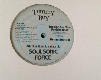 Afrika Bambaataa and Soulsonic Force - vinyl record