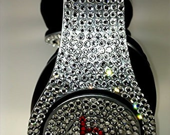 Beats by Dre, Bling Beats Headphones, Swarovski Beats Headphones, Bling Headphones, Apple Headphones, Beats, Custom Apple Headphones