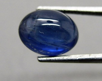 Blue Sapphire, Cabochon, only heated to ca. 2.05 ct