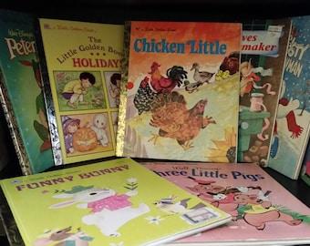10 Little Golden Books 70's/ 80's/ 90's