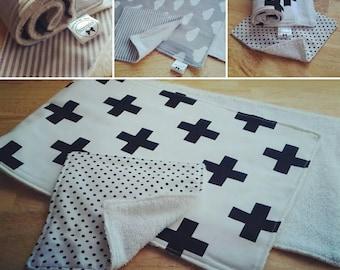 Burp cloth set wash cloth baby burping cloth baby wash cloth babyshower gift set newborn gift set
