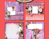 ON SALE Digital Scrapbook: Quick Page, BFF
