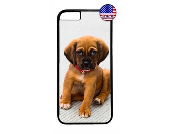 Cute Puppy Dog Case Cover for iPhone 4 4s 5 5s  5C 6 6s 6 Plus 7 7 Plus iPod Touch 4 5 6 case Cover