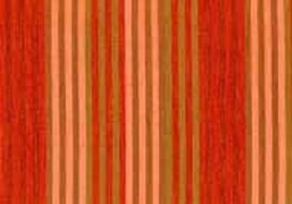 CATERPILLAR Woven Stripe TOMATO WCATERTOMAT by Kaffe Fassett fabric sold in 1/2 yard increments