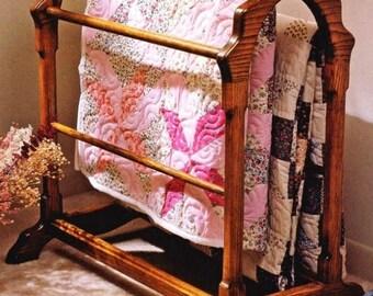 Quilt Rack Woodworking Plans