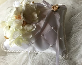 Ring Bearers Wedding Cushion