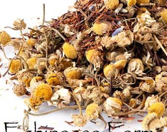 ROOIBOS CHAMOMILE LAVENDER Tea * Loose Leaf* 1 oz. African Red Bush All Natural