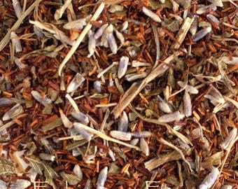 ROOIBOS LAVENDER PEPPERMINT Tea * Loose Leaf* 1 oz. African Red Bush All Natural