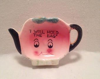 Vintage Tea Bag Holder