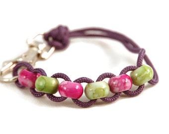 Fidget Bracelet - Sensory Fidget Bracelet - Fidget Jewelry - Anxiety Bracelet - Sensory Jewelry - Sensory Bracelet - Fidget - Purple Jewelry