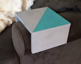 Couch arm table etsy - Sofa tablett tisch ...
