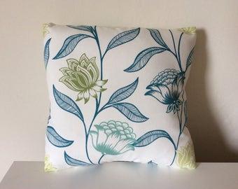 Pillow Cover 16 x 16 Sofa PIllow Sham 16 Inch Scatter Cushion Throw PIllow Toss Pillow Cover - Flowers