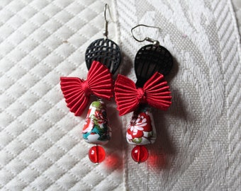 air balloon earrings