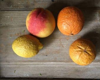 Italian Carved Stone Fruit