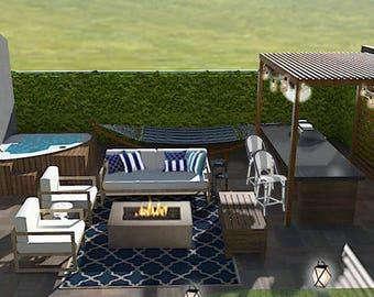 Großartig Terrasse Design   Moderne Patio   Terrasse Möbel Layout   Terrasse  Unterhaltsam