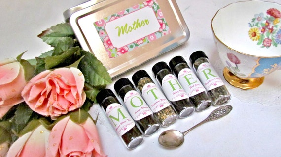 Tea Gift Set For Mom Exotic Blends Stepmom Mother Of The Bride In Law Grandmother Aunt Hostess Travel Birthday Brunch