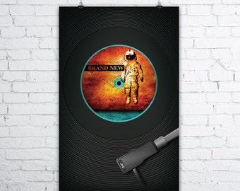 Brand New - Deja Entendu Vinyl Record Print