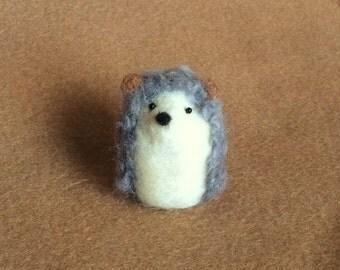 Little Hedgehog - needle felted