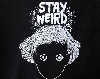 Stay Weird Girl Patch | Patches | Punk Patches