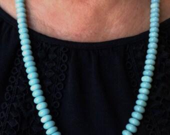 Rondel Amazonite Necklace