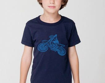 KillerBeeMoto: Limited Release Children's Dirt Bike Motorcycle Shirt