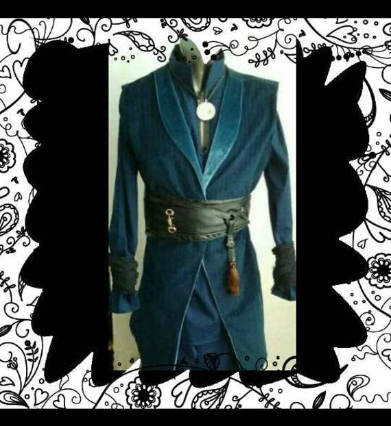 7pc DOCTOR STRANGE COSPLAY Ensemble
