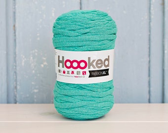 Red Ribbon XL Yarn, Cotton Yarn XL, Recycled Cotton Yarn, Knitting, Crochet, Pink yarn