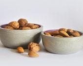 Large fruit bowl | Modern Concrete Bowl | Individual salad bowl | Cereal bowl | Fruit Bowl | Jewelry box