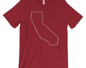 Outline of California T-Shirt