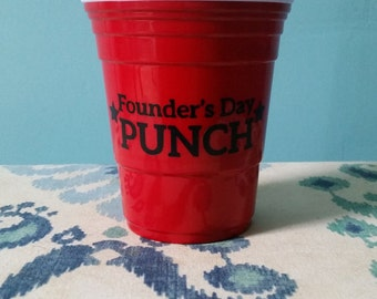 """Gilmore Girls - Reusable Cup - """"Founder's Day Punch"""""""