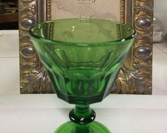 Cambridge Glass Emerald Green Stemware